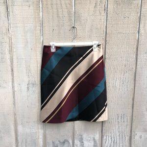 NWT {Ann Taylor} Striped Skirt! Size 2